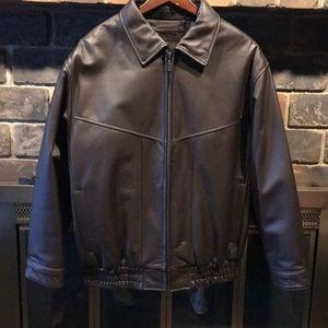 Roundtree & Yorke leather Jacket